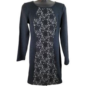 NORDSTROM PAPILLON Dress Black Mini Lace